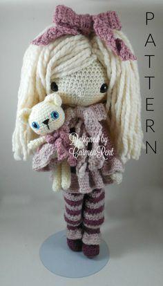 February Amigurumi Doll Crochet Pattern by CarmenRent on Etsy