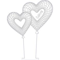Hearts love illusion vector file for CNC - 3d Illusion Art, 3d Optical Illusions, Sand Glass, Acrylic Awards, Laser Cutter Projects, 3d Light, Glass Engraving, Led Signs, 3d Drawings