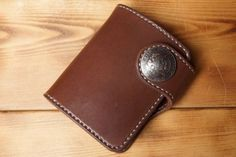 Leather-Half-Wallet-Hand-Made-JAPAN
