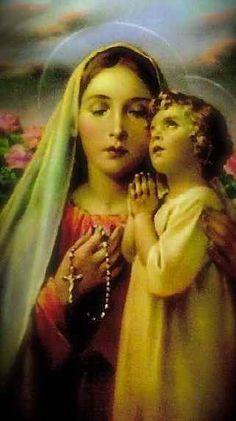 Jésus qui prie.