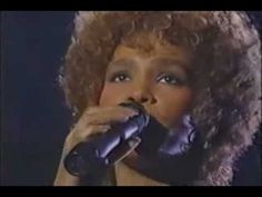 """Whitney Houston   """"The Greatest Love of All"""" Song written by Michael Masser and Linda Creed, originally recorded by George Benson, later popularized by Whitney Houston."""