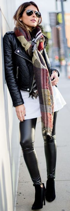 Fashion Trends Daily - 30 Stylish Outfits On The Street (Fall/Winter) 2015