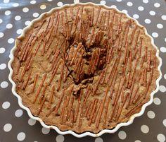 Cookie-kake med saltstenger Pie, Cookies, Baking, Desserts, Food, Torte, Crack Crackers, Tailgate Desserts, Cake