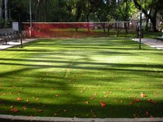An artificial grass Volleyball court at RBI Colony, Bangalore.  For more info, plz visit www.greatsportsinfra.com