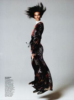 Liya Kebede Vogue 2015