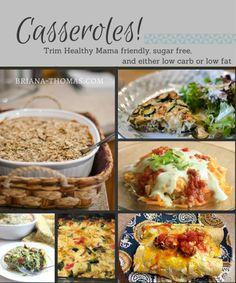 Trim Healthy Mama Casserole Roundup (THM - S and E)