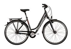 Trekkingrad Damen, 28 Zoll, 8 Gang Shimano Nexus, »Nexus 8 Speed Lady«, Corratec.  Lieferbar in 3 Rahmenhöhen  Das Trekkingrad Nexus 8 Speed Lady steht für ein dynamisches Vorankommen. Mit dem auffällig zeitlos gestalteten Rahmen, gefertigt in modernster Ultra Light Hydroforming Technologie, ist das Bike für Stadt und Tour gerüstet. Der integrierte Steuersatz bietet viel Platz für den Zusammens...
