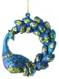 North Star Divine Regal Peacock with Deluxe Curved Tail Christmas Ornament Eclectic Christmas Ornaments, Peacock Christmas Tree, Peacock Ornaments, Disney Ornaments, Christmas Themes, Glass Ornaments, Christmas Decorations, Xmas Trees, Christmas Balls