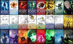 All of the amazing Artemis Fowl books