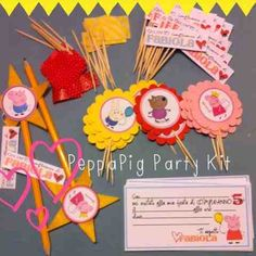 peppa pig party kit