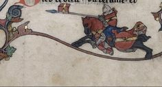 """The Knight attacks the Snail (@BLMedieval, YT 19)"""