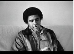 young barrack obama