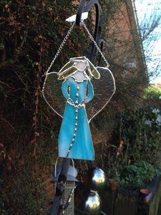 Blue Stained Glass Angel £16.50