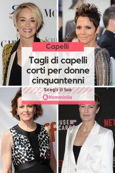 Tagli di capelli corti per donne cinquantenni  scegli il tuo stile! 4cf037de61af