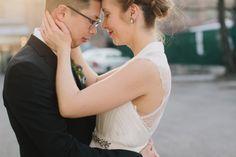 Mirka and Brian at City View Loft by Chicago Wedding Photographer, Megan Saul Photography