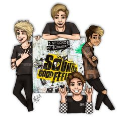 sounds good feels good fan art | like angels can fly, we'll never die!! +