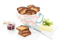 Receta de Biscotes con Thermomix ®. Un pan tostado que queda exquisito y que te servirá para fiestas o desayunos. Obtendrás unas 20 rebanadas.