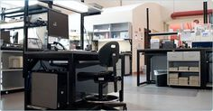 Lab data entry workstation...