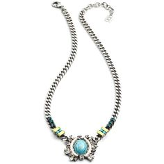 Dannijo Declan Necklace ($460) ❤ liked on Polyvore