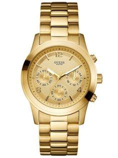 relogio feminino de pulso guess Bijuterias, Relógio Feminino, Ouro,  Presentes, Cronógrafo, 25882f8ff4