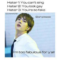 BTS | memes | Kim Seokjin