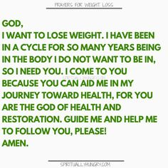 Prayer For Weight Loss - 21 Short Prayers - Page 3 of 4 - Spiritually Hungry Prayer For Guidance, Gods Guidance, Prayer For You, Guidance Quotes, Prayer For Health, Parents Prayer, Prayer Ideas, Weight Loss Challenge, Weight Loss Journey