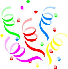 Party, Decoration, Streamers