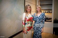 Ivanka Trump, daughter of U.S. President Donald Trump and Queen Maxima of The Netherlands attend the W20 conference on April 25, 2017 in Berlin, Germany. The conference, part of a series of events in connection with Germany's leadership of the G20 group of nations this year, focuses on women's empowerment, especially through entrepreneurship and the digital economy. (Photo by Patrick van Katwijk/Getty Images)