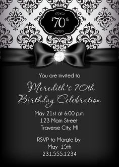 252 Best Adult Birthday Party Invitations Images In 2019