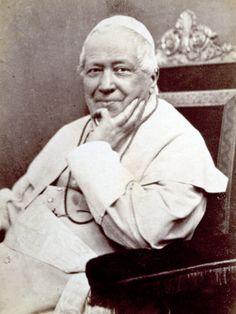 PIO IX - Giovanni Maria Mastai Ferretti; Senigallia, 13 maggio 1792 – Roma, 7 febbraio 1878. Fu Papa dal 21 giugno 1846 alla morte