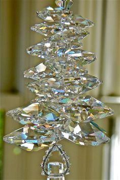 Venice  11 Swarovski Crystal Suncatcher by HeartstringsByMorgan, $36.00