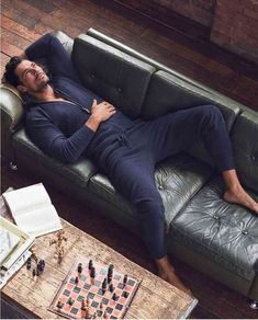 Buy the Pure Cashmere Hooded Pyjama Top from Marks and Spencer's range. David Gandy Suit, David Gandy Style, David James Gandy, David Gandy Body, Portrait Photography Men, Dark Men, Poses For Men, Pajama Top, Gentleman Style