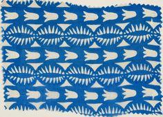 Carl Otto Czeschka  Manufactured by Wiener Werkstätte  Textile Heron, 1910-1911