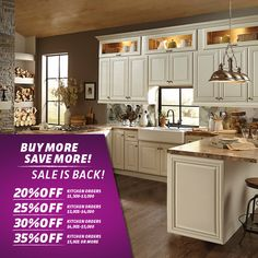 Buy more AND save more!!! Hurry before this sale ends. Visit your local Cabinets To Go store or CabinetsToGo.com