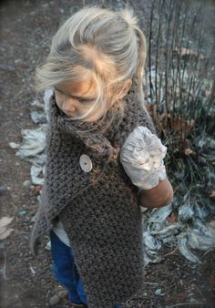 Ravelry: Adelaide Wrap pattern by Heidi May Knitting For Kids, Knitting Projects, Baby Knitting, Crochet Projects, Knitting Patterns, Crochet Patterns, Crochet Wrap Pattern, Knit Or Crochet, Crochet For Kids