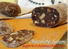 Chocolate Salami is a Portuguese dessert also known as Salami Dolce in Italy. Create this popular treat with Thermomix and to trick dinner guests.