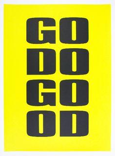 brandpoems(105): Dear Brand, .. GO DO GOOD.