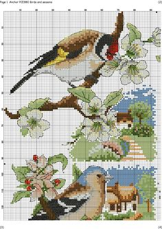 Bird saison grille 1/4