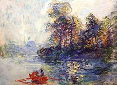 1881 Claude Monet-Il fiume