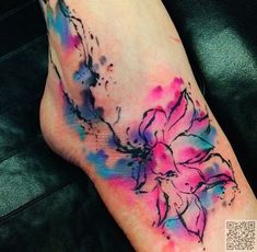 45 #Incredible Watercolor #Tattoos ...