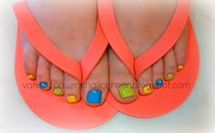 Bright Toes by Anne