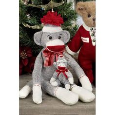 Sock Monkey By Bearington Collection