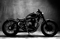 Reginald Hilt from Bull City Customs recently submitted these images and shared the story of their recently completed 2003 Royal Enfield b...