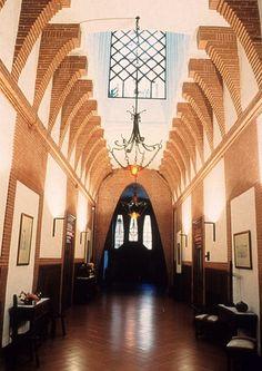 College of the Teresians # Antoni Gaudí # Italy Architecture, Amazing Architecture, Architecture Design, Antoni Gaudi, Custom Homes, Brick, Building, Modernism, World