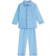 Blauwe jongenspyjama