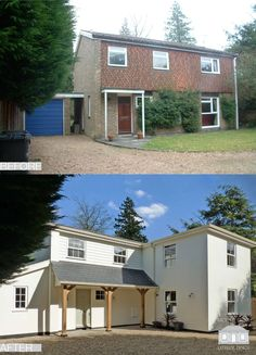 """1960's remodelling project featured on Sarah Beeny's """"Double Your House for Half the Money"""" in 2012. A complete remodelling scheme both internally and externally"""
