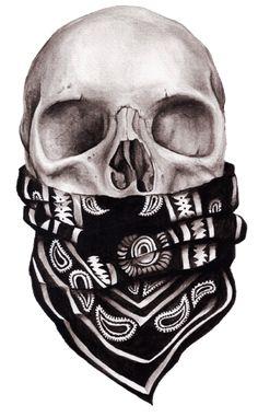 Bad ass Skull art                                                                                                                                                     More