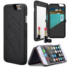 Finally, an all-in-one protective phone case for the iPhone 6 gives you the freedom and convenience to walk around with just your phone and a few necessities, credit cards, cash and i.d. all in one pl