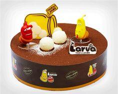 라바케익!!! 대박!! 뚜레쥬르에서 나온다니 Must Have cake! larva (animation) cake by tous les jours