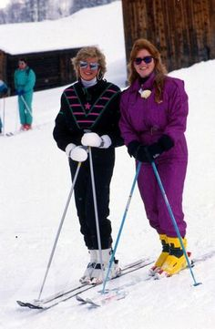 Princess Diana & The Duchess of York, Sarah Ferguson